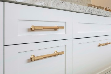 Armac Martin Sparkbrook Pull Polished Brass Cabinet Handles   HB Design