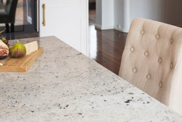 River White Granite Benchtop | HB Design
