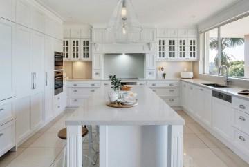 Elegant Symmetrical Cabinetry | Helen Baumann Design