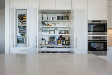 Integrated French Door Fridge | Helen Baumann Design