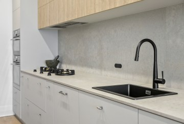 Gunmetal / Black Kitchen Fittings & Fixtures | Helen Baumann Design