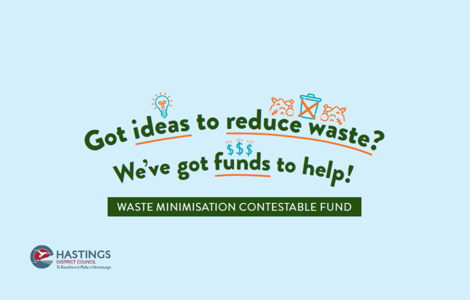 Hastings District Council Waste Minimisation Fund
