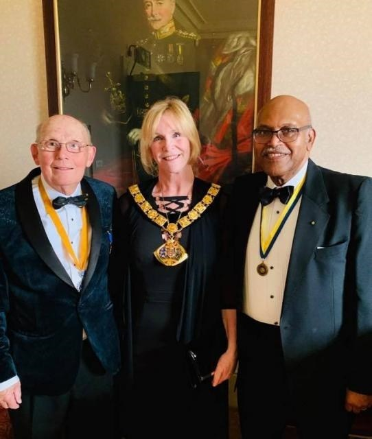 Halton's Mayor is made honorary Rotarian