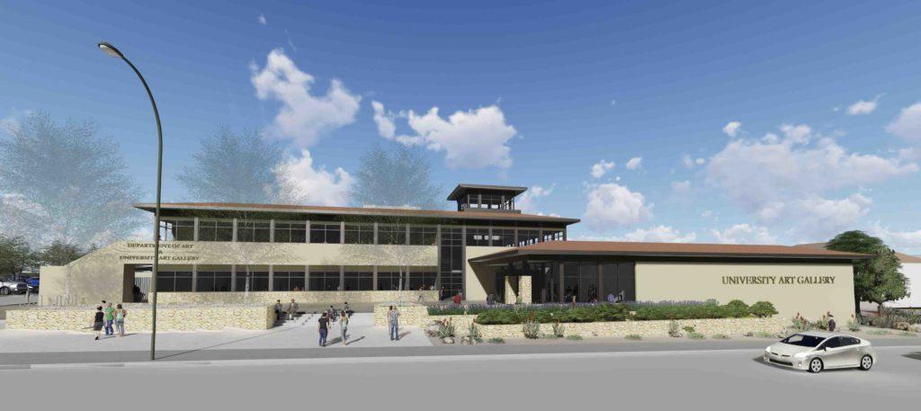 NMSU New Art Building Rendering
