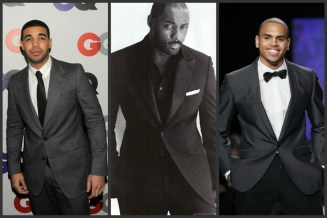 Suit collage
