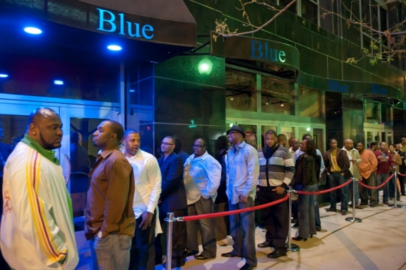 Jon Strayhorn/Media Arts CollectiveMany of the restaurants, bars, nightclubs, and ballrooms in Uptown are rented out for parties while the CIAA Tournament is in town.