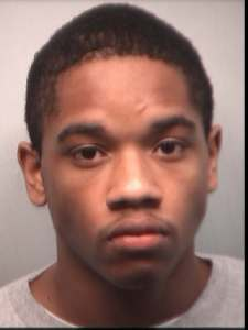 Amir Obafemi, 21, was charged with felony aggravated assault and carrying a concealed weapon. (Fulton County Jail)