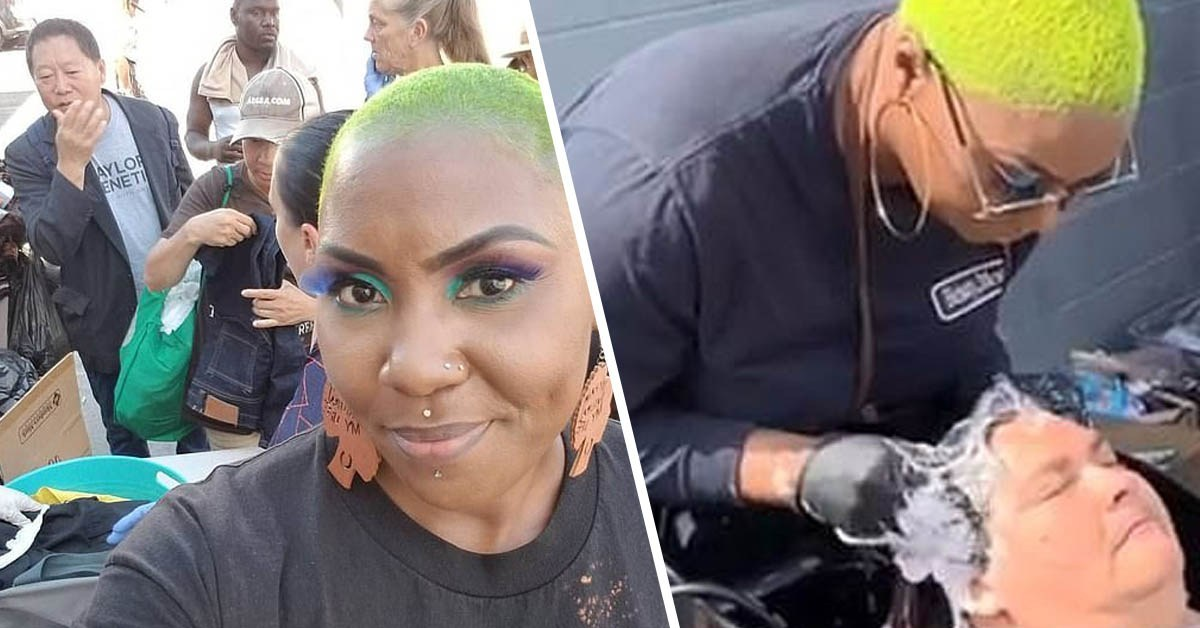 LA Beautician Offers Free Makeovers To Homeless Women | Taper Cypher | HBCU Buzz