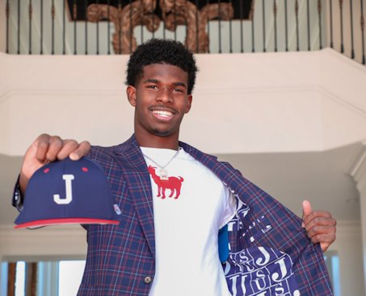 Shedeur Sanders, son of Deion, commits to Jackson State