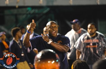 VSU coach Reggie Barlow. (Photo by Michael Peele.)