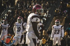Ryan Smith in his last game for NCCU.