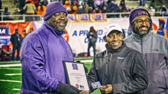 Eric Martin wins the 2017 CIAA Championship Tailgate Cook-Off Competition