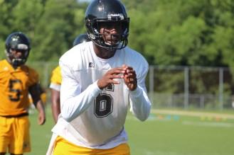 Black College Football POY and Harlon Hill Finalist Quarterback Amir Hall