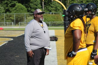 Coach Richard Reddix Is Looking To Rebuild An Offensive Line That Had 5 Seniors