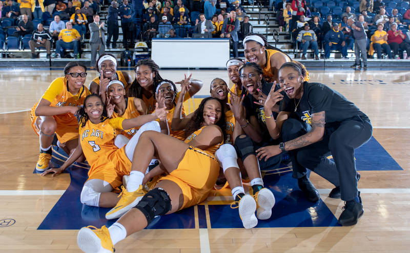 NCAT recognized as top Athletic Program in MEAC