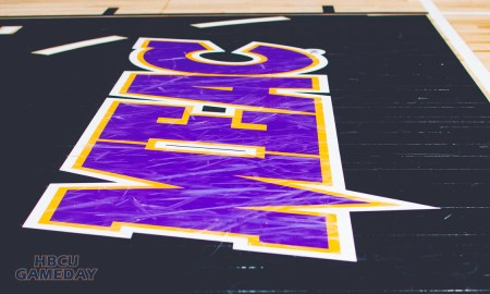 MEAC Basketball Court