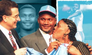 Steve McNair Draft FB feature