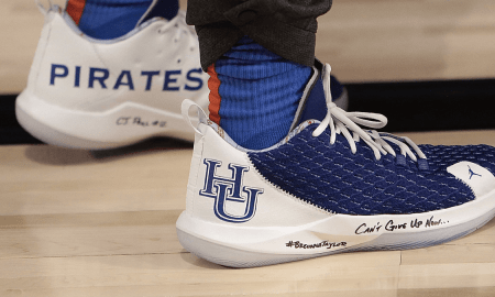 Hampton inspired shoes worn by Chris Paul