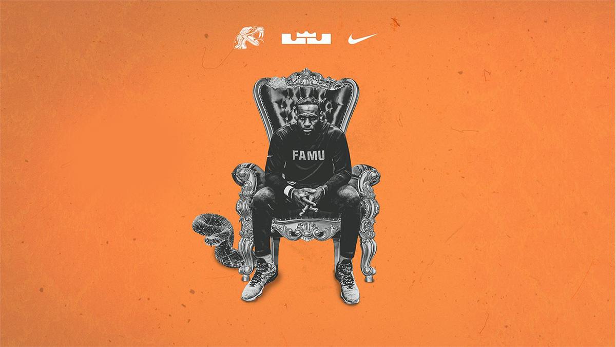Lebron James to outfit FAMU sports via Nike