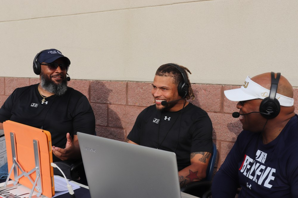 Neely and Bishop of Thee PreGame Show interview Tyrann Mathieu