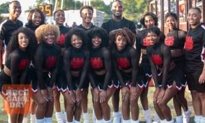 WSSU Cheerleaders