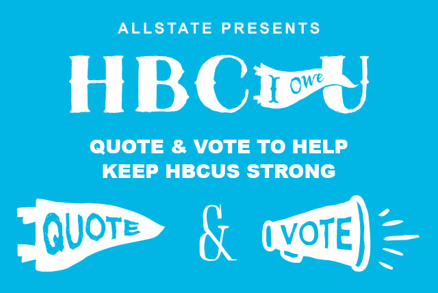 Allstate Quotes Glamorous Allstate Quotes For Education 2014 Support Hbcu Students