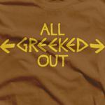 Brown & Gold All Greeked Out (Iota Phi Theta)