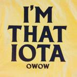 I'm that Iota OW OW Stuff4Greeks