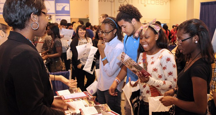 National College Fair Schedule 2016