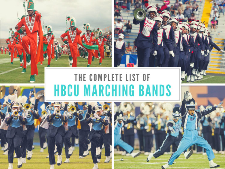 The Best In the Land: A Complete List of HBCU Marching Bands