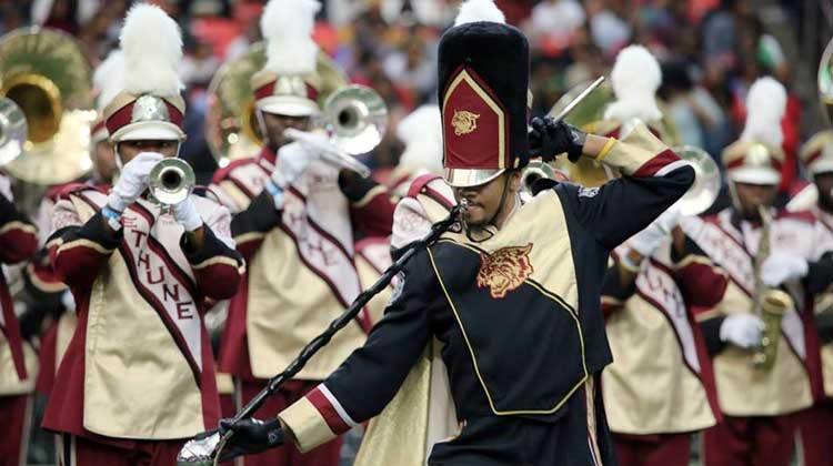 Bethune-Cookman performs in the 2016 Honda Battle of the Bands Showcase