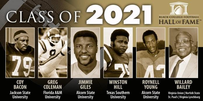 BCFHOF Class of 2021