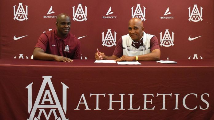 Alabama A&M and Connell Maynor