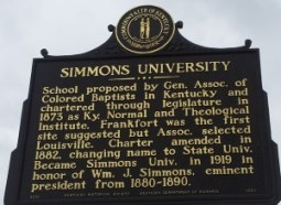 History of Simmons University, the predecessor of SCK