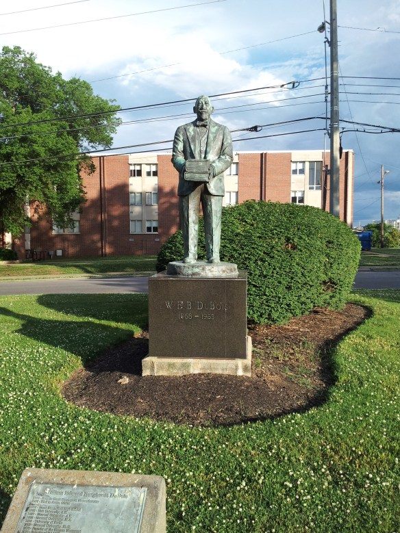 W.E.B. Du Bois Statue 20140530_182439