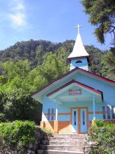 Catholic church in Karo village (North Sumatra, 2004)