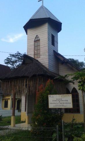First church in Tanah Karo (North Sumatra, 2014)
