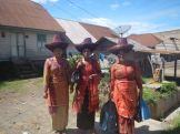Karo women ready to party (North Sumatra, 2014)