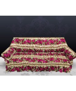 Cotton Printed Sofa Cover Anti-Slip Elastic Slipcover Soft Furniture Protector Couch Cover