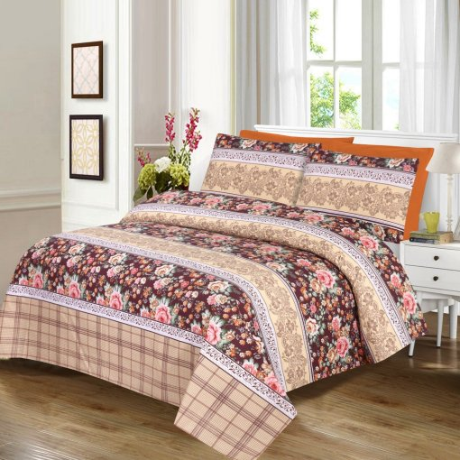 Imported Cotton Satin Bed Sheet 6