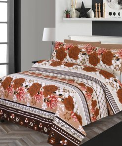 Imported Cotton Satin Bed Sheet 8