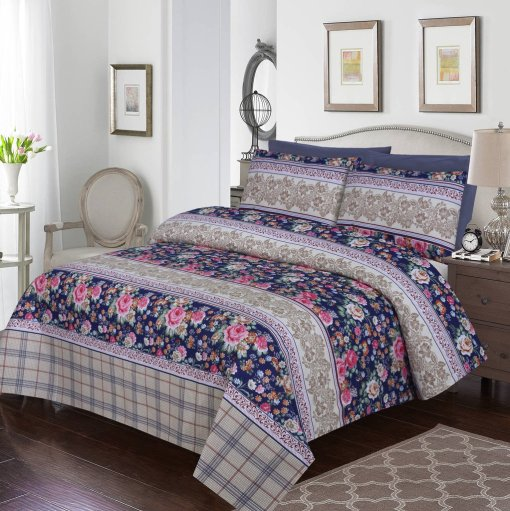 Imported Cotton Satin Bed Sheet 9
