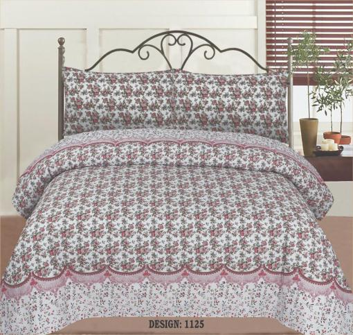 Cotton Bed Sheet High Quality Print 12