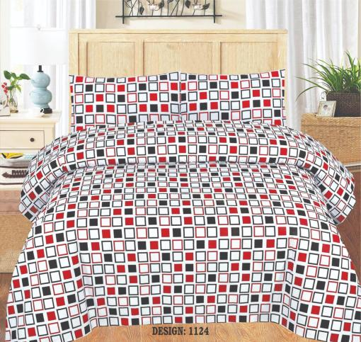 Cotton Bed Sheet High Quality Print 21