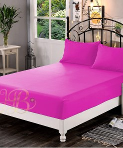 Fitted Sheet Hot Pink