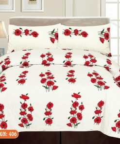 Satin Bed Sheet 406