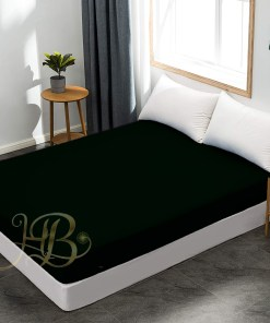 Terry Waterproof Mattress Cover Black
