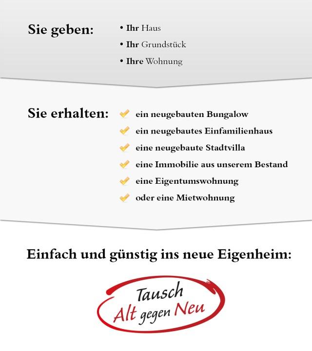 """Tausch """"Alt gegen Neu"""""""