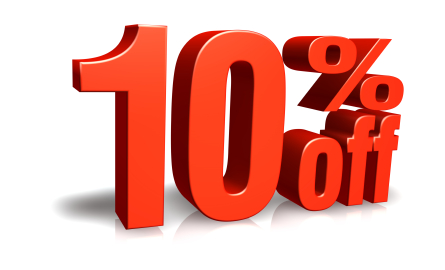 Save 10% Off