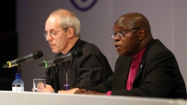 Archbishop of Canterbury Justin Welby and Archbishop of York John Sentamu